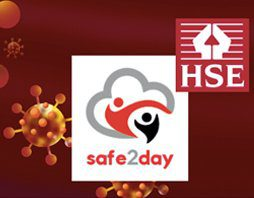 Safe2day and HSE logo